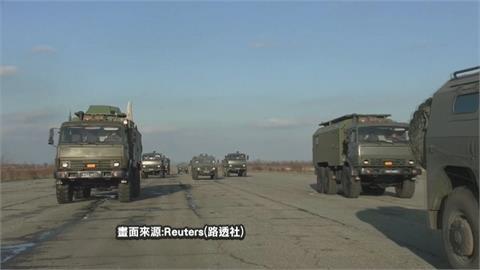 俄羅斯增兵烏克蘭邊界 美國擬派艦赴黑海聲援烏克蘭