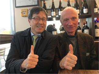 快新聞/旁聽德台建交公聽會  謝志偉:台灣外交值得慶祝的一大勝果!