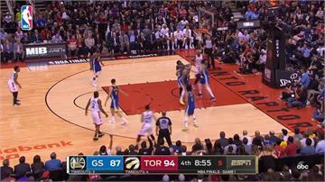 NBA/總冠軍賽首戰 衛冕軍勇士爆冷不敵暴龍