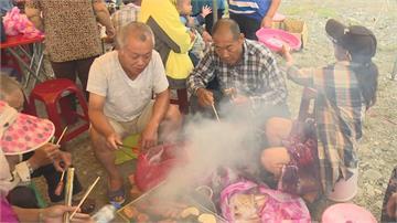 慶中秋就是要烤肉!花蓮舊東里車站前千人烤肉