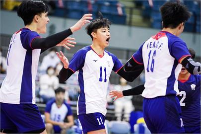 快新聞/台灣男排不敵中國 亞錦賽奪第4名追平隊史紀錄