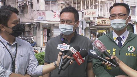 口譯哥「趙怡翔」選議員跑基層 遇上對手陳聖文