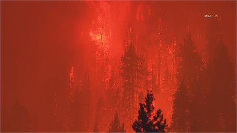 加州卡爾多野火肆虐 威脅太浩湖萬人撤離