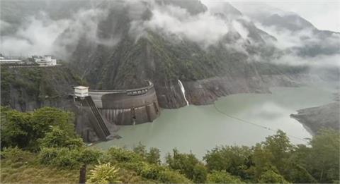 山區雨勢轉小!中部德基水庫「進帳減半」僅增266萬噸水量