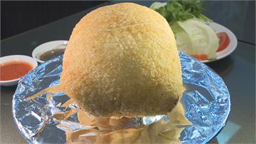 金黃鍋巴包裹「越菜雞迷路」 河內鮮肉春捲清爽入口