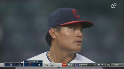 棒球/張育成敲雙安選保送 鄭宗哲包辦4打點