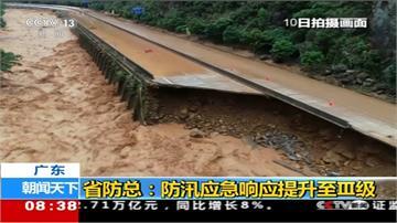 中國南部豪雨成災!經濟損失逾135億台幣