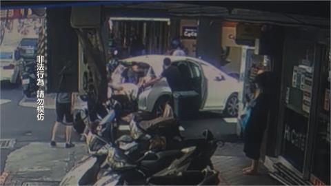 北市當街擄人強押上車 被害人成功跳車逃
