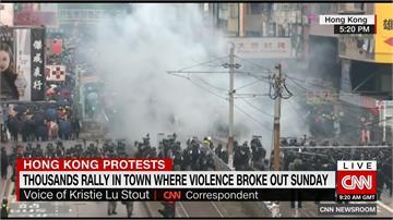 反送中/727「光復元朗」爆衝突!香港警方發射催淚彈清場