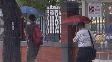 梅莎增強變胖 開學日距離台灣最近 北部東北部局部大雨 週三颱風遠離