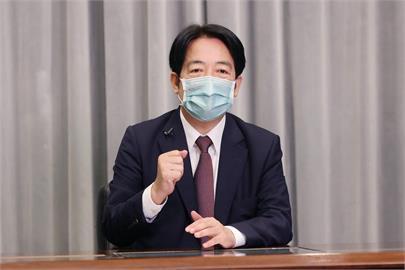 快新聞/政府自購疫苗接力抵台! 賴清德:台灣已取得超過1千萬劑