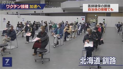 日本目標提高疫苗接種率 今起開放企業職場施打