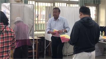 南部陽光普照 屏嘉南候選人起大早投票