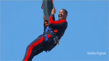 威爾史密斯慶祝50歲生日 大峽谷挑戰高空彈跳