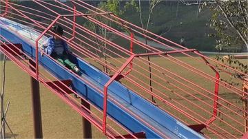 慘!婦搭風禾公園50米滾輪溜滑梯...快速著地脊椎斷裂