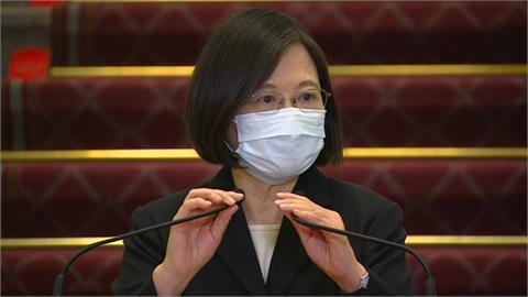 LIVE/蔡英文17:00總統府發表談話 親上火線回應疫苗議題