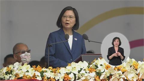 快新聞/蔡英文國慶提「中華民國與中國互不隸屬」 民調:破7成民眾支持