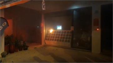 快新聞/台南首宗電池交換站火警 目擊民眾:電池冒黑煙迸出火花