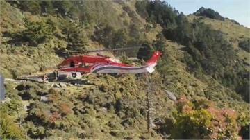 嘉明湖登山客高山症發作空勤直升機完美技術救援