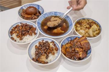 華西街夜市超夯必吃!米其林必比登推介「黑金魯肉飯」