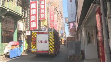 北市南陽街網咖火警!警消疏散25人