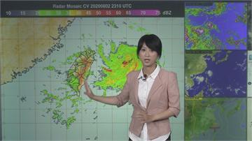 快新聞/輕颱哈格比擦邊過 上半天北台灣嚴防驟雨