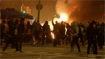 「加獨」重判 50萬人上街示威爆衝突400人傷