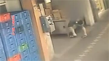學生走騎樓遭機車擦撞 錄影竟被K到腦震盪