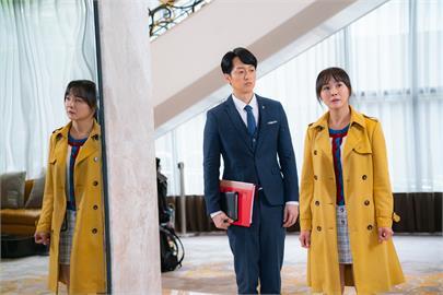 《黃金歲月》陳妍安昨天亮麗出場 高帥氣秘書引起討論