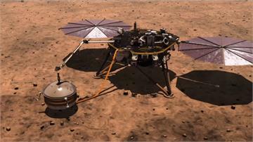 挺過「恐怖6分半」 NASA「洞察號」登陸火星傳回照片