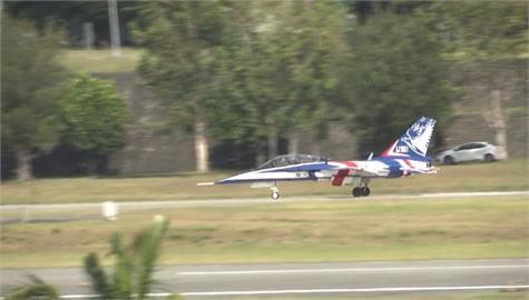 快新聞/勇鷹高教機台東志航基地試飛 估2024年撥交33架取代F-5