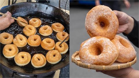 美食/三重|每日限時開店!車路頭超夯「三十年甜甜圈 雙胞胎」酥脆香甜,出爐就秒殺!