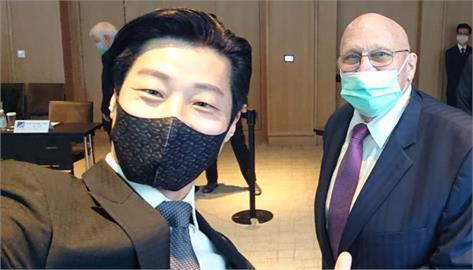 快新聞/林昶佐與美前副國務卿大談孩子經 也聊年輕世代對台灣未來看法