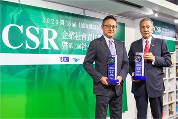 金融業大贏家!中信金控榮獲2020年《遠見雜誌》CSR獎三大獎
