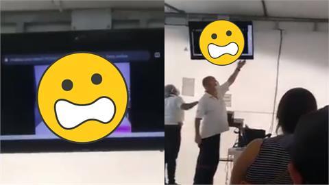 哥國接種站竟播「AV疫苗連結片?」全場傻眼 衛生人員:是我手殘!