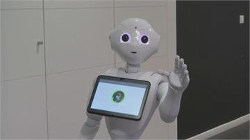 日法合作機器人「Pepper」全新功能可檢測你有沒有戴口罩