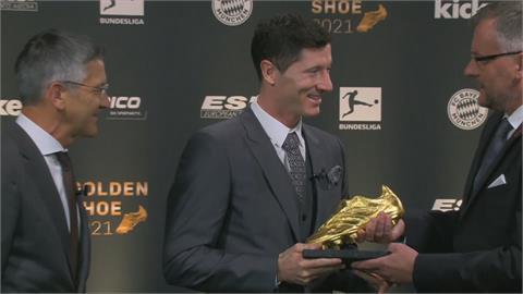 力壓梅西與C羅 波蘭球星萊萬多夫斯基獲歐洲金靴獎