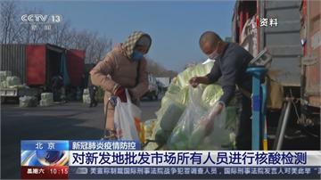 北京爆第二波疫情? 連三天出現多起本土病例 生鮮市場緊急休市