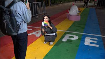 10月31日台北同志大遊行 展現城市性別友善
