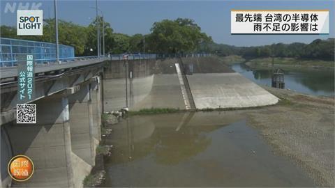 台灣水情拉警報!台積電自力救濟度缺水危機 NHK大篇幅報導