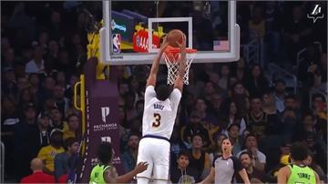 NBA/戴維斯狂攻50分 湖人142:125大勝灰狼