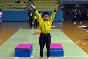 體操運動向下扎根 有請世大運銀牌教練