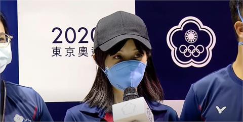 東奧/「證件妹」吳佳穎榮耀歸國 信心喊話:2024巴黎奧運再見!