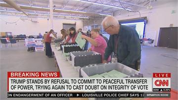 美大選倒數 川普批通訊投票有問題 若大選失利 拒承諾和平轉移權力