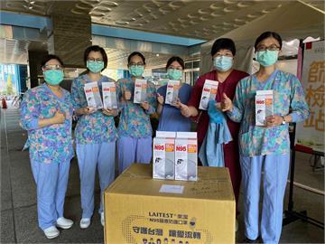 挺醫護! 萊潔捐全台11家醫院「10多萬片N95口罩」 盼守護台灣讓愛流轉
