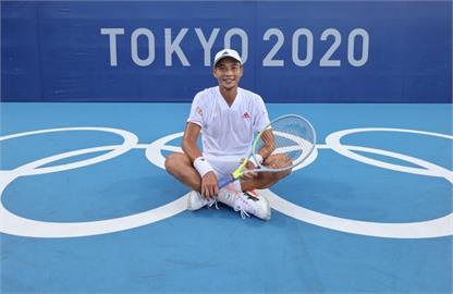 東奧/「網球一哥」盧彥勳生涯最後一役 賴清德讚「台灣的驕傲」:感謝用青春替國家征戰