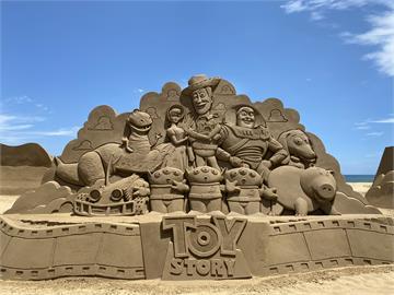 2021福隆國際沙雕藝術季 重溫「皮克斯經典」中秋開展!