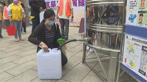 4月6日起台中分區供水!  西屯辦抗旱取水演練