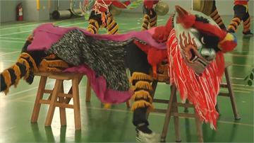 30名兒童創雲林奇蹟 舞獅奪八項冠軍