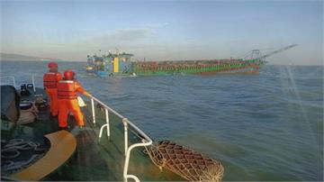上百艘中國抽砂船越界 馬祖「圍島」抽砂船可能成「海上民兵」 製造麻煩